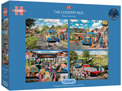 THE COUNTRY BUS 4 x 500pcs
