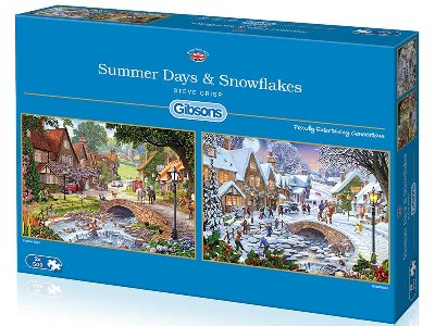 SUMMER DAYS & SNOWFLAKES 2x500