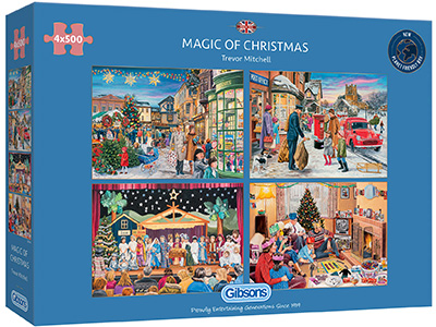 MAGIC OF CHRISTMAS 4 x 500pcs