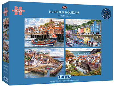 HARBOUR HOLIDAYS 4 x 500pcs