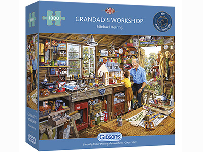 GRANDDAD'S WORKSHOP 1000pc