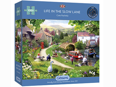 LIFE IN THE SLOW LANE 1000pc