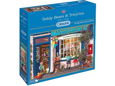 TEDDY BEARS TRICYCLES 1000pc