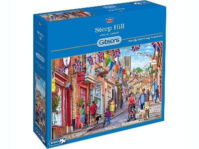 STEEP HILL 1000pc
