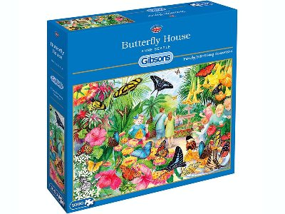 BUTTERFLY HOUSE 1000pc
