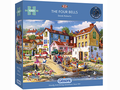 THE FOUR BELLS 1000pc