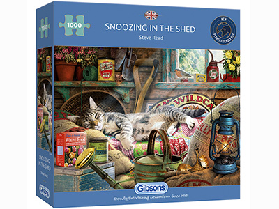SNOOZING IN THE SHED 1000pc