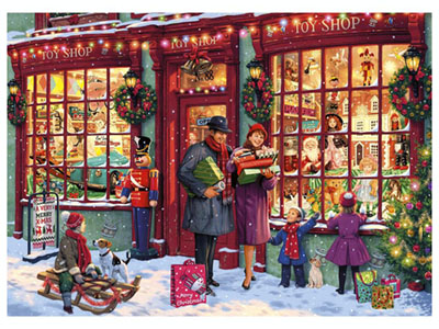 CHRISTMAS TOY SHOP 1000pc