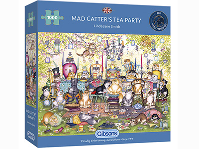 MAD CATTER'S TEA PARTY 1000pc