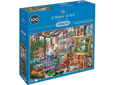 A WORK OF ART 1000pc