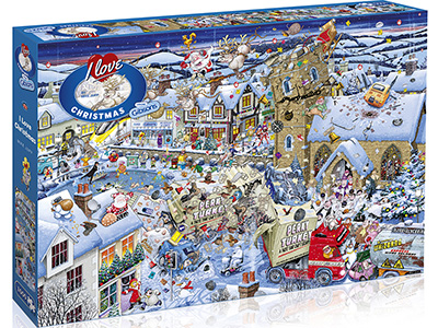 I LOVE CHRISTMAS 1000pc