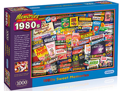 1980s SWEET MEMORIES 1000pc