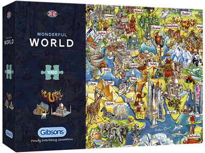 WONDERFUL WORLD 1000pc