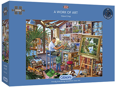 A WORK OF ART 2000pc