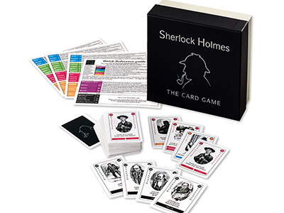 SHERLOCK HOLMES,THE CARD GAME