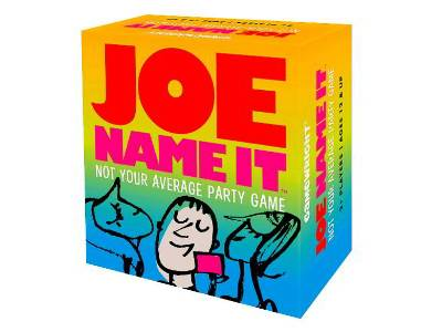 JOE NAME IT Party Game