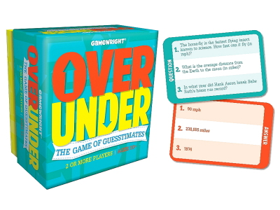 OVER/UNDER Guesstimates Game
