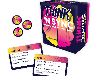 THINK 'N SYNC Card Game