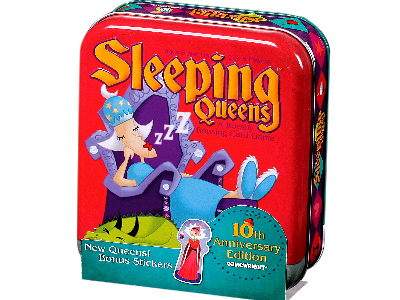 SLEEPING QUEENS 10th Anniv.tin