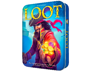 LOOT Card Game in Tin