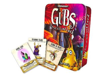 GUBS Card Game in Tin