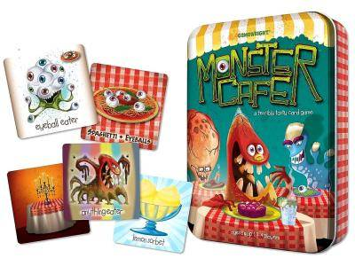MONSTER CAFE Card Game in Tin