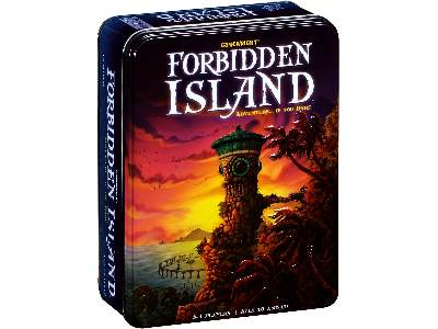 FORBIDDEN ISLAND in tin
