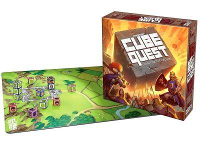 CUBE QUEST Strategy Game