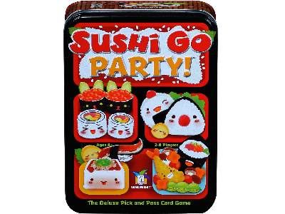 SUSHI GO PARTY! Board game tin