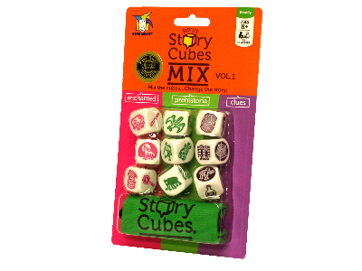 RORY'S STORY CUBES MIX Carded