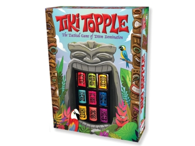 TIKI TOPPLE Tactical Game