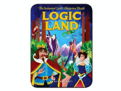 LOGIC LAND PUZZLE (In Tin)