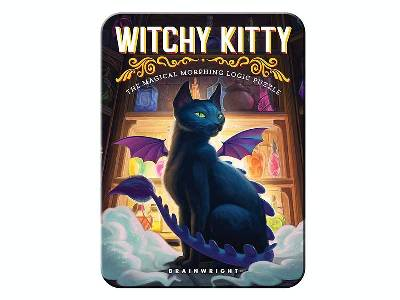 WITCHY KITTY PUZZLE (In Tin)