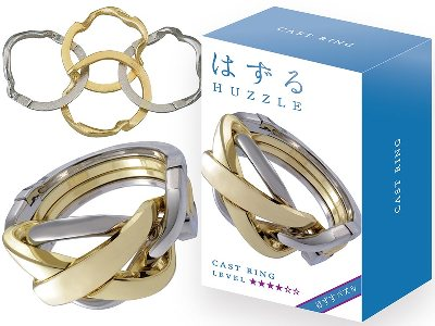 HANAYAMA L4 CAST PUZZLE RING