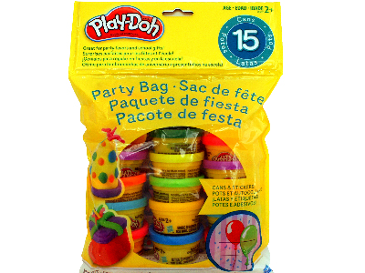 PLAYDOH 1OZ 15 COUNT BAG