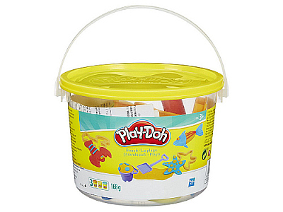 PLAYDOH MINI BUCKET ASSTD