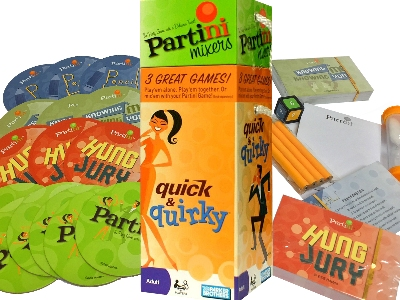 PARTINI MIXERS QUICK & QUIRKY