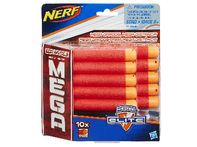 NERF N-STRIKE 10 ELITE DARTS