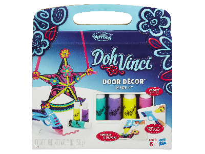 DOHVINCI PLAYDOH DOOR DECO