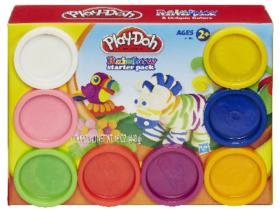 PLAYDOH RAINBOW STARTER PACK