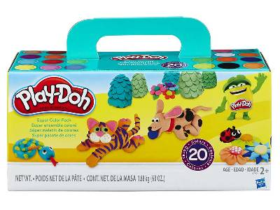 PLAYDOH SUPER COLOUR PACK