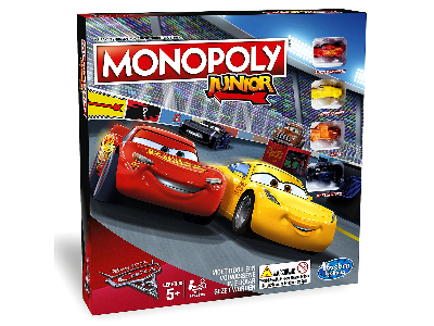 MONOPOLY JUNIOR CARS 3