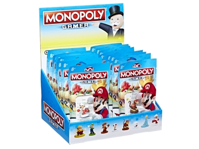 MONOPOLY GAMER FIGURE DIS.(24)
