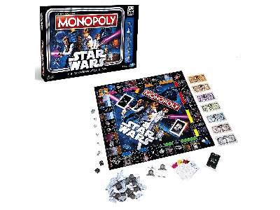 MONOPOLY STAR WARS 40th ANNIV.