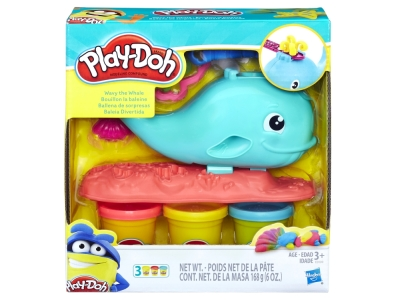 PLAYDOH WAVY THE WHALE