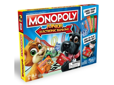MONOPOLY JNR ELECTRONIC BNKING