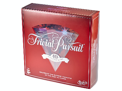 TRIVIAL PURSUIT 40TH ANNIVER