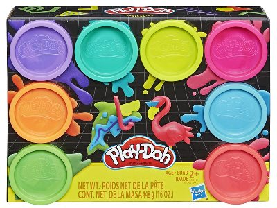 PLAYDOH 8-PACK ASSORTED