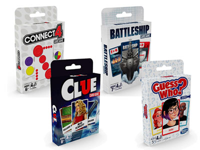 CLASSIC CARD GAMES 8pc Display
