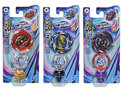 BEYBLADE SPEEDSTORM SINGLE PK